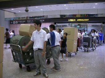 台湾1日目 (空港)