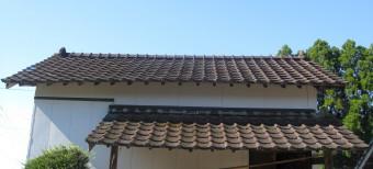 蔵の屋根瓦