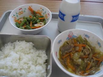 今日の給食♪