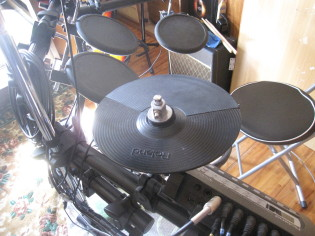 電子ドラム♪